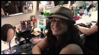 """Fly Girl Backstage at """"Wicked"""" with Lindsay Mendez, Episode 5 Citizens of Oz & NessaProblems"""