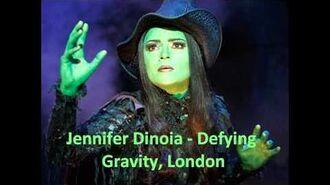 Jennifer Dinoia, Defying Gravity - London, No Fly Show