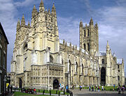 220px-Canterbury Cathedral - Portal Nave Cross-spire