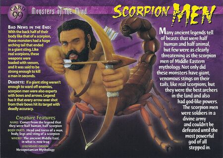 Scorpion Men front