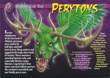 Perytons front