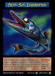 Deep-Sea Lizardfish