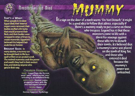 Mummy front