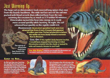 Dimetrodon back