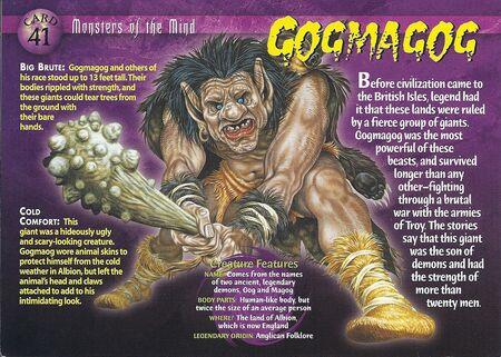 Gogmagog front