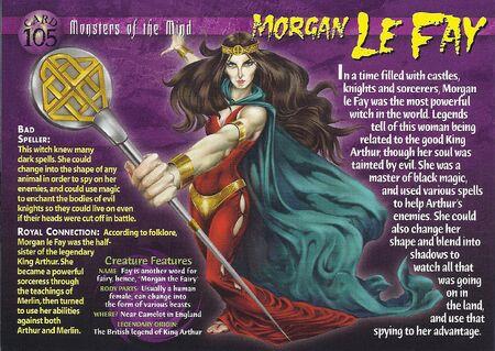 Morgan Le Fay front