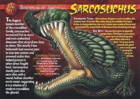 Sarcosuchus front