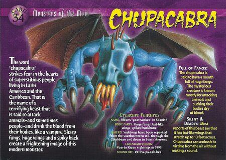 Chupacabra front