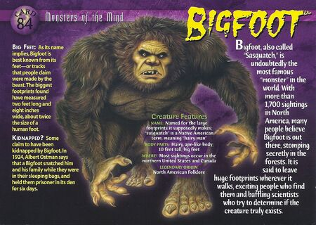 Bigfoot front