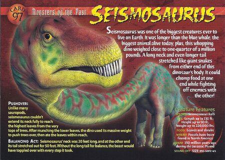 Seismosaurus front