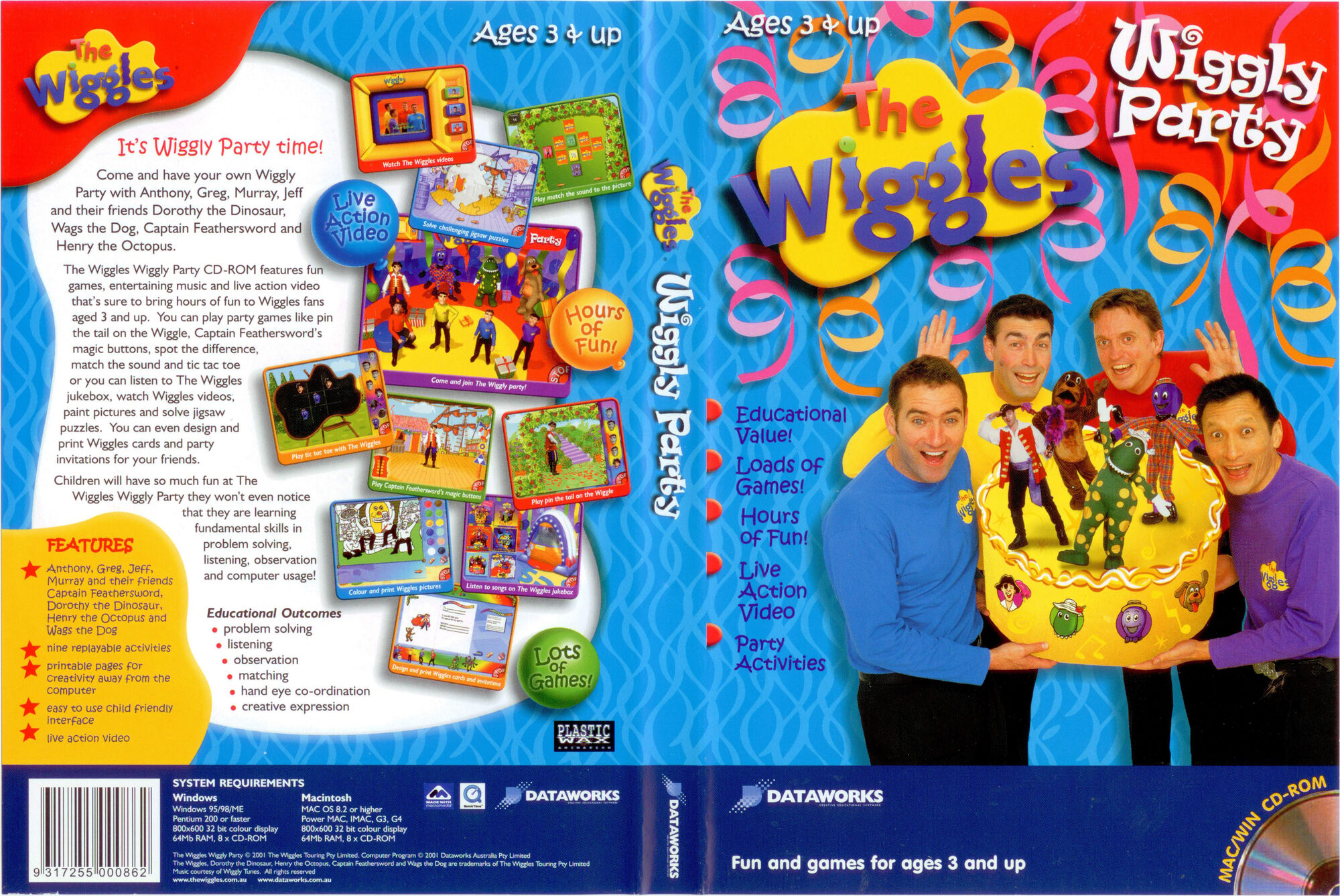 The wiggles jeff games