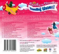 DorothytheDinosaur'sTravellingShow-AlbumBackCover