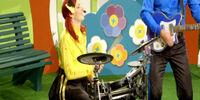 Emma's Drum Playing Skit