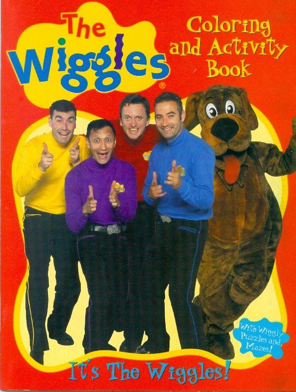 Wiggles Sticker Coloring Book