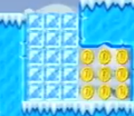NSMB Wii Ice Blocks