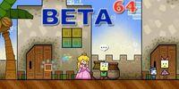 Super Paper Mario beta