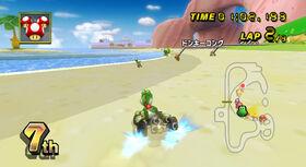 Mario-Kart-Wii-Characters-Yoshi-Kart-Peach-Beach-2