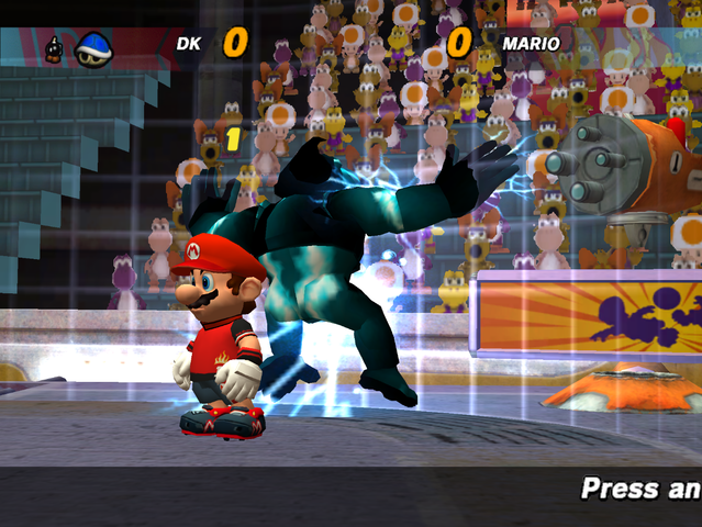 File:639px-SuperMarioStrikers Donkey'sElectricFence.png