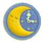 KEY Moon Clock sprite