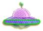 KEY Flying Saucer sprite