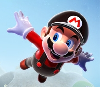 Flying Mario Artwork-1-