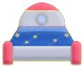 KEY Rocket Bed sprite