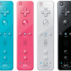 Four Wii Remotes.
