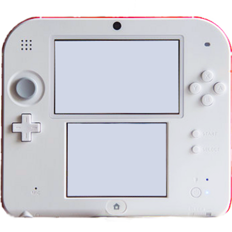 The front view of a 2DS.