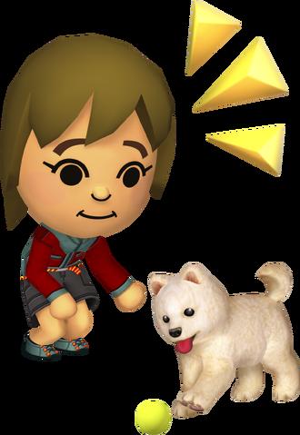 File:Girl and dog - Tomodachi Life.png