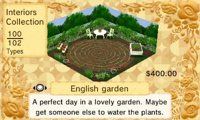 English Garden Interior