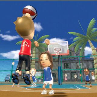 Gameplay screenshot of pickup game.