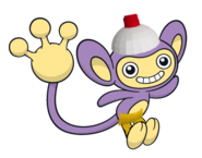 Aipom as monkey from ape escape