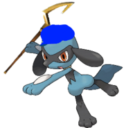 Riolu as sly cooper