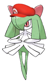 File:Kirlia in Nintendo clothes.png