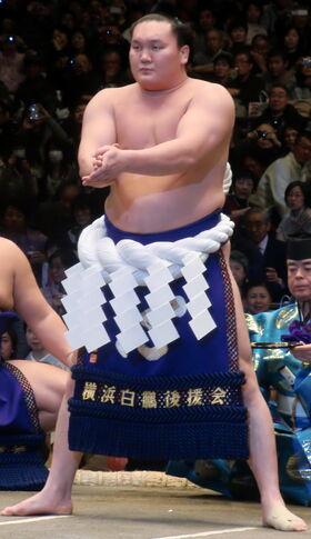 Hakuho 2012 January