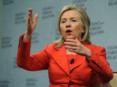 Sec-State-Clinton-speaks-in-Washington 5