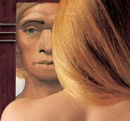 Neandertal.Artistic rendering.Ann Coulter morning mirror.Sceintific American.2003