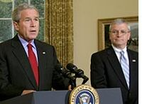 Bush and JoshBolton