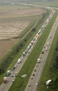 I-40TrafficStormArkansas