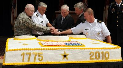 US Army Turns 235