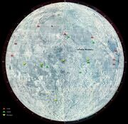 Moon landing map revised