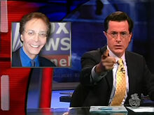 Colbert Alan Colmes.stay on message.aka Oetzi the iceman