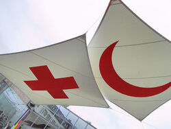 Red-cross-crescent