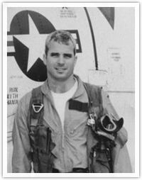 McCain in flight suit