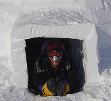 Igloo entrance