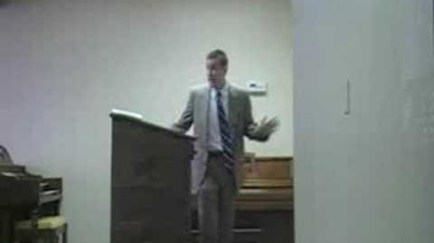 Pastor Steven L Anderson Pisseth Against the Wall