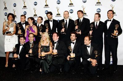 ColbertReportWriters2008Emmys