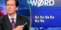The Colbert Report/Episodes/EpGuide/Episode 312