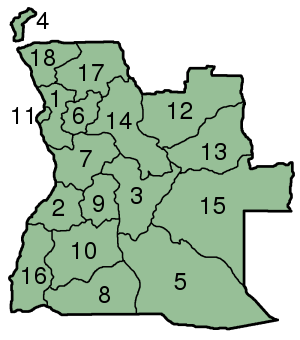 File:Angola Provinces numbered 300px.png