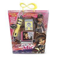 Sasha On the Mic Doll and Mic box